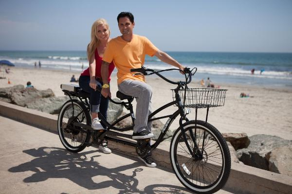Pedego Electric Tandum Bike : $30 / hr. $140 full day