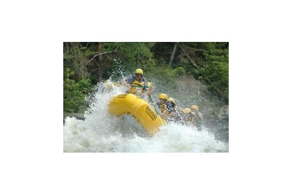 Rafters having some fun on the Penobscot