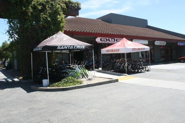 Another Bike Shop, Santa Cruz, Front of Store