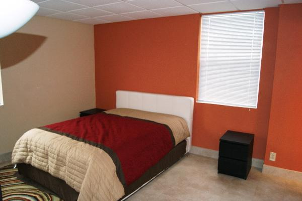 Master bedroom queen