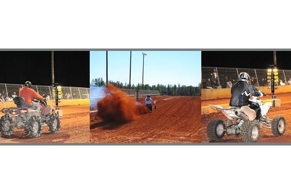 ATV Dirt Bike Drag Strip