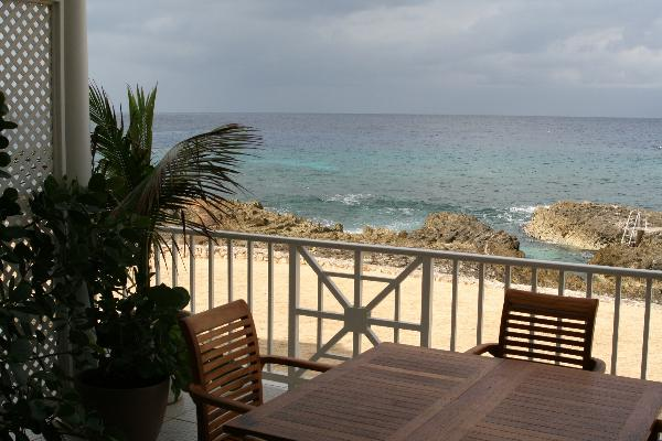 Incredible ocean view from the Cayman Sunset patio