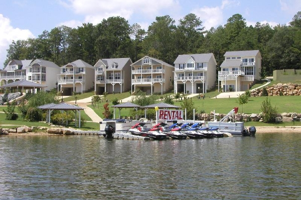 Pontoon and Jet Ski Rentals available on site!