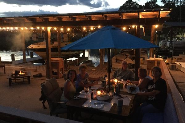 Dinner at the Dock