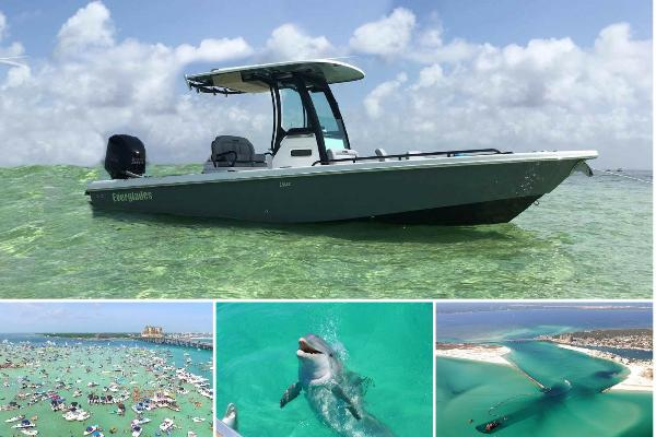 3 Hour Private Eco/Dolphin Tour (Up to 7 passengers)