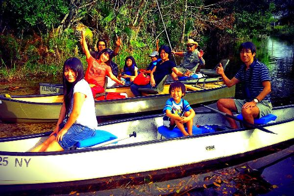 Everglades Canoe Tour