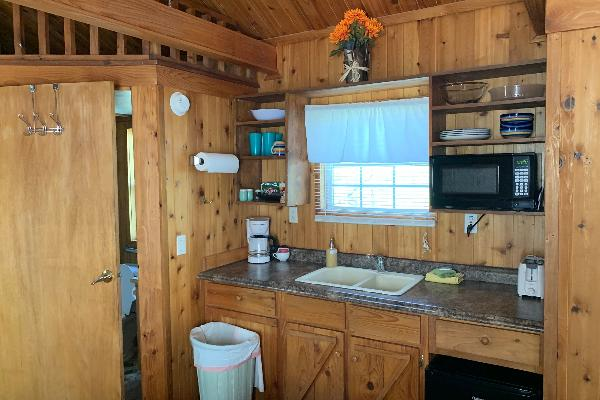 Consuelo Cabin Kitchenette