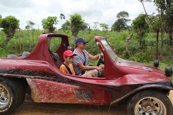 Family fun for all ages fun buggy tours punta cana