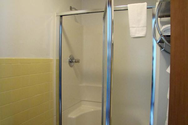 Suite #33 Shower area downstairs