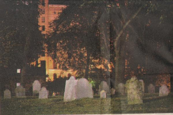 Central Burying Ground Cemetery - is the little girl watching you?