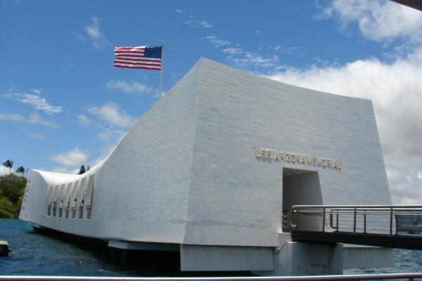Pearl Harbor Arizona Memorial