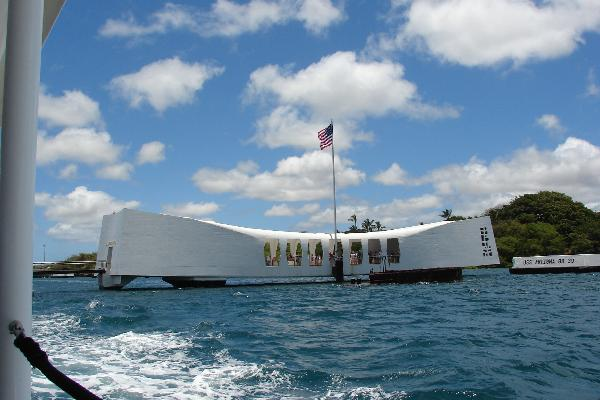 Boat ride to Arizona Memorial