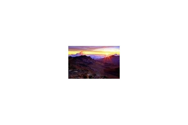 Haleakala Mountain Sunrise