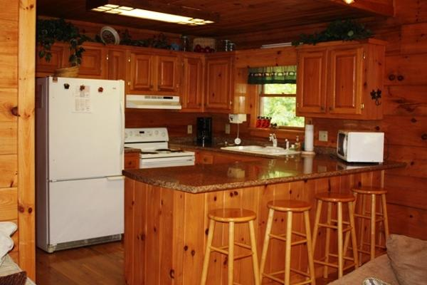Kitchen with all the Amenities of Home