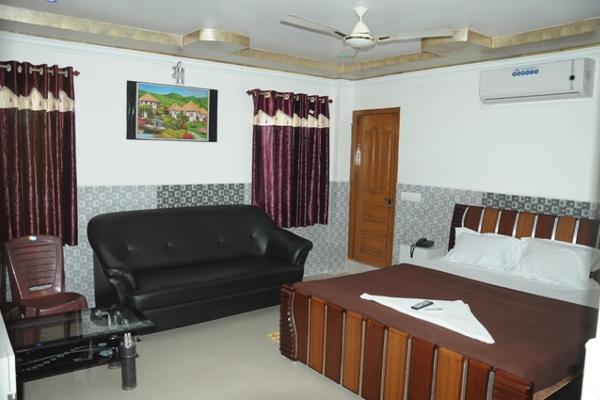 suite room a/c with fully air conditioned ,tv, wife and also attacthed bath room ,balcony