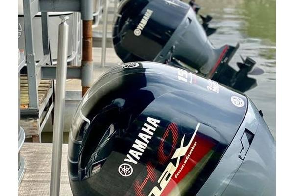 Yamaha motors are on all of our Rental Boats!