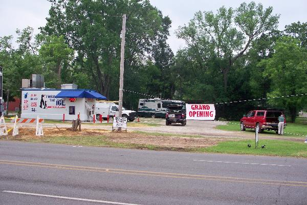 Grand Opening of Ice House and RV Park