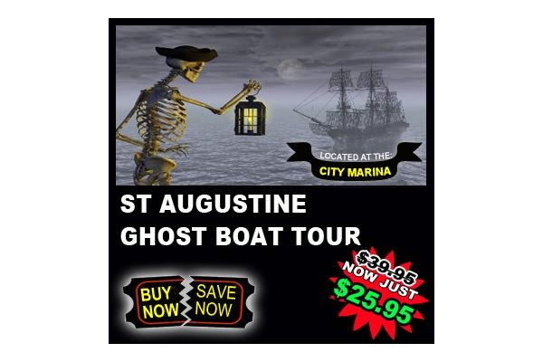 St Augustine Walking Ghost Boat Tour