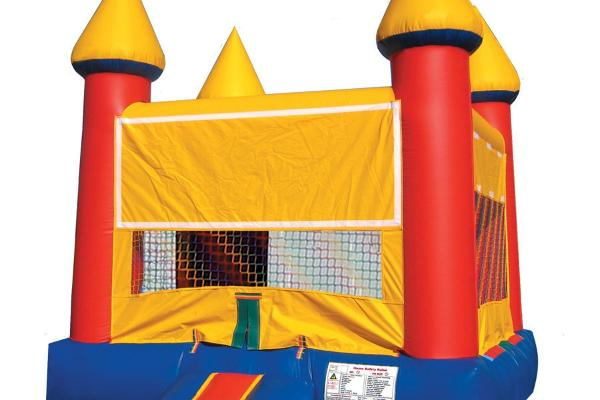 Always fun, our Castle Jumper may be just right for your next party. 13ft x 13ft