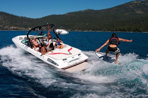 The ONLY wakesurf boat on Lake Chelan!