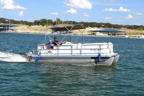 10 Person Pontoon Boat
