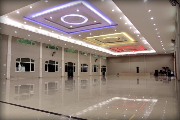 We offer one of the largest banquet halls in the city