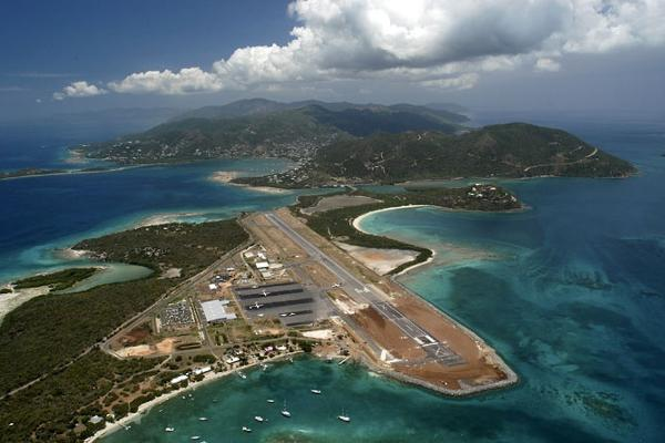 BVI Arriving at Tortola Beef Island Airport