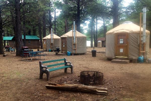 front country yurts