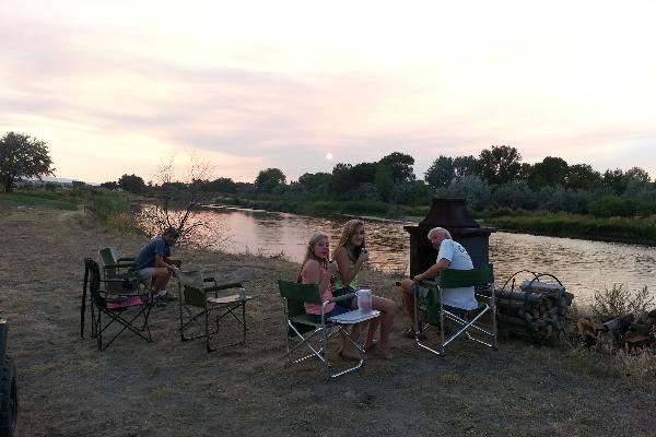 By  the North Platte River Tent & Camper Sites