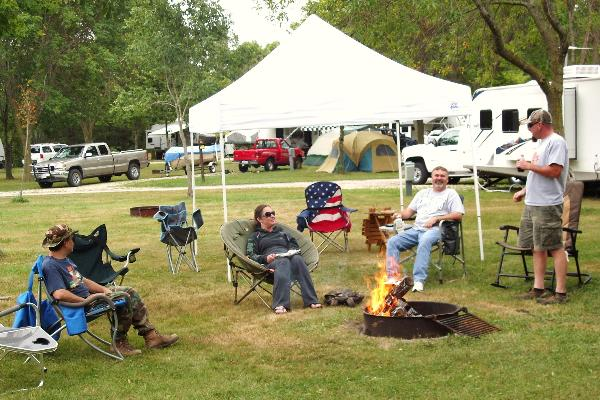 Cliffside Park - campground is great for relaxing!