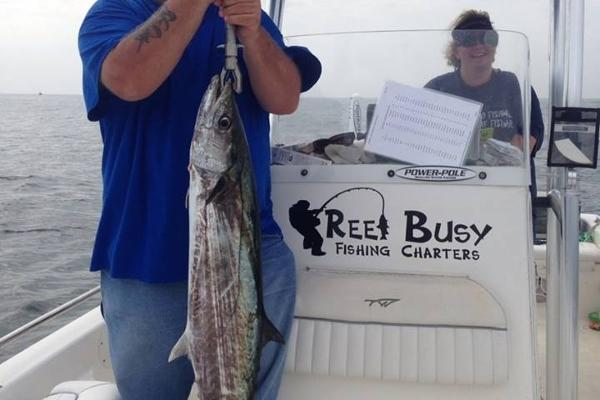 King Mackerel Nearshore Fishing