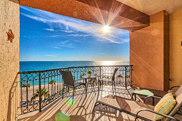 1BR/1BA Sonoran Sea Resort- Brand New Remodeled Beachfront Condo