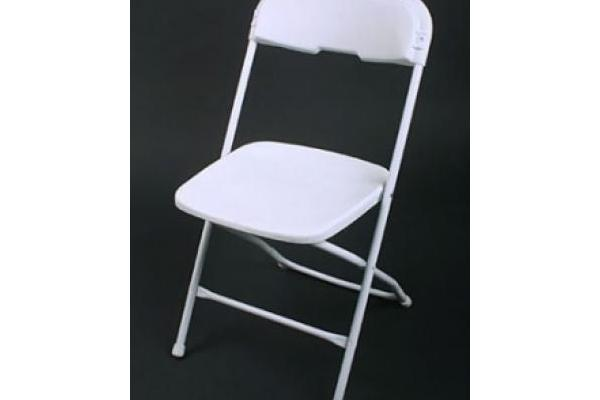 Plastic White Folding Chairs