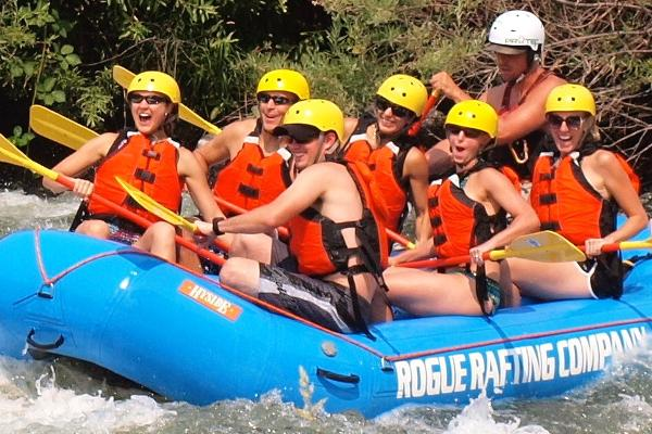 FAMILY FUN ON THE ROGUE RIVER