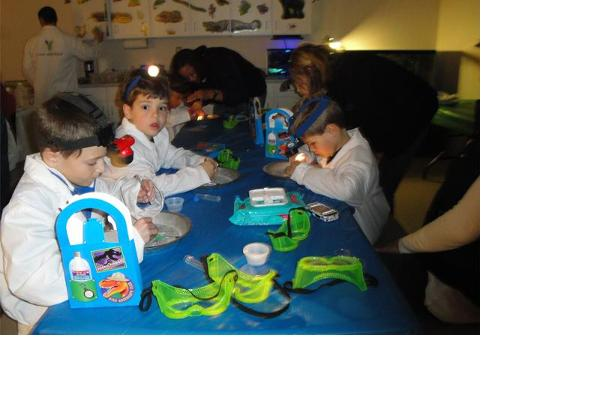 Birthday Party at the Science Lab