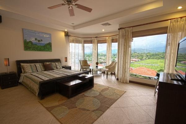 Enjoy the mountain view from the master bedroom with king size bed