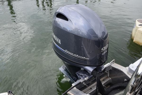 Powerful 90hp Yamaha outboard