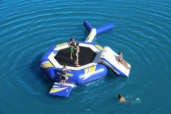 Aquaglide Supertramp 14 and 17...the ultimate in waterfront fun