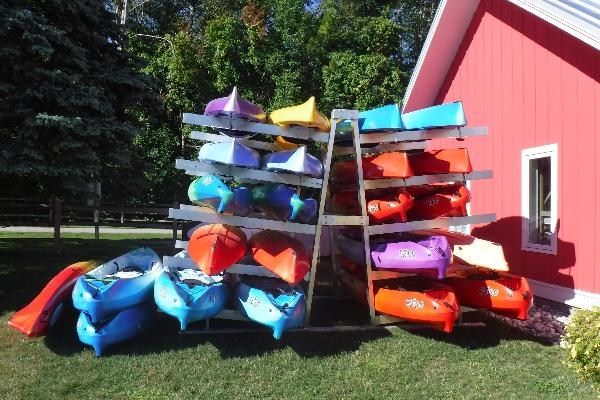 We have a ton of high quality new Perception kayaks