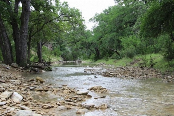 A Seasonal Creek on the ranch, 40+ Acres of Natural Area and Trails