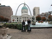 Seeing a unique city on a one of a kind Segway!